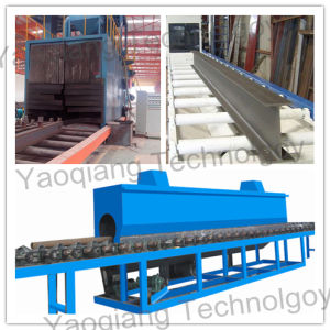 Automatic Section Steel Surface Treatment Cleaning Machine pictures & photos