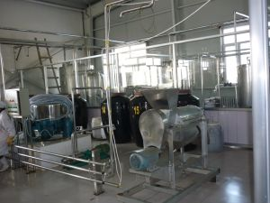 Full Automatic 3000L/H Peanut Milk Production Line pictures & photos