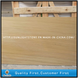 Natural Honed Chinese Yellow Wood Grain Sandstone pictures & photos