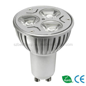 3X3w LED Bulbs with 100-240V AC pictures & photos