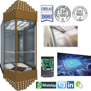 Machine Roomless Observation Elevator for Shopping Mall pictures & photos