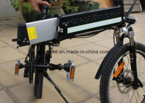 En15194 Certificated Folding Style Electric Bicycle with Panasonic Lithium Battery pictures & photos