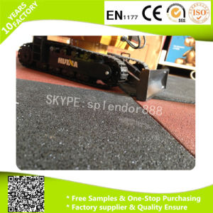 15mm Thick EPDM Crossfit Gym Rubber Flooring Tile pictures & photos