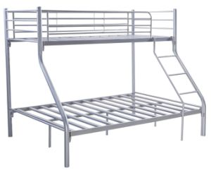 Cheap Price Kd Steel Metal Tubes Triple Bunk Bed pictures & photos
