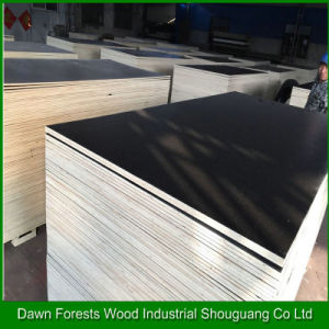 1220X2440mm Poplar Core Film Faced Plywood Used in Construction pictures & photos