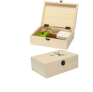 Handmade Craft Wedding Gift Home Storage Natural Wooden Box pictures & photos