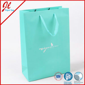 Blue Promotional Reusable Kraft Paper Shopping Bag Paper Gift Bags Packaging Bags pictures & photos
