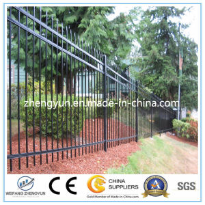 New Design Cheap Metal Fence/Wrought Iron Fence pictures & photos