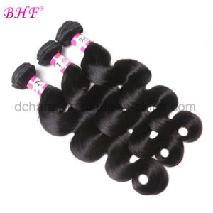 Brazilian Virgin Hair Body Wave Mink Human Hair Weave Bundles pictures & photos
