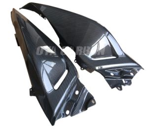 Carbon Fiber Rear Seat Side Panel for YAMAHA Tmax 530 pictures & photos