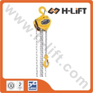 0.5t-50t Manual Chain Hoist / Chain Block / Chain Pulley Block pictures & photos