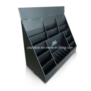 Matt Lamination Corrugated Paper Counters Cardboard Display Stands pictures & photos