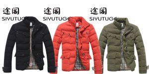 Men Fashion Canvas Cotton Casusal Washed PU Jacket pictures & photos