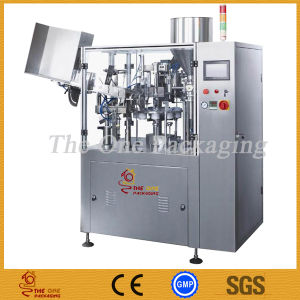 Good Automatic Tube Filling Machine/Tube Filling and Sealing Machine with Mixer pictures & photos