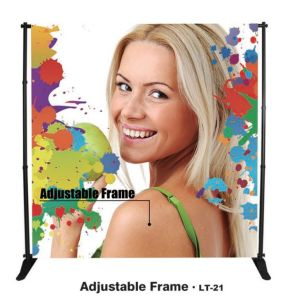 Telescopic Large Adjustable Banner Stand Jumbo Banner Stand (LT-21) pictures & photos