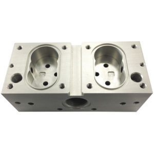 Stainless Steel Machining Housing for Hydraulic Accessories (DR019) pictures & photos