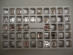 Flat Back Square Sew on Rhinestone, Square Acrylic Stone pictures & photos