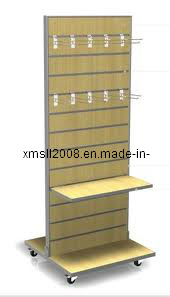 Wood Slatwall Fixture for Display (Gier-SL05) pictures & photos