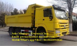 Sinotruck HOWO 10 Wheels 6X4 Dump Truck/Tipper/ Dumper, 340HP, Rhd/LHD, Euro III pictures & photos