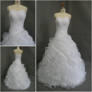 Actual Picture Wedding Dress As019