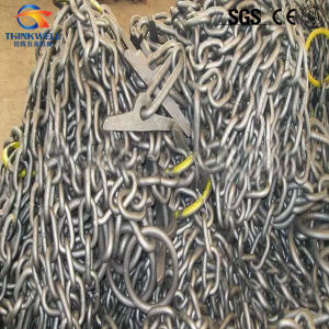 Factory Price High Tensile Welded Steel Boom Link Chain pictures & photos
