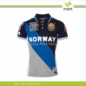 China f1 racing custom embroidery club polo shirts for men for Personalised embroidered polo shirts