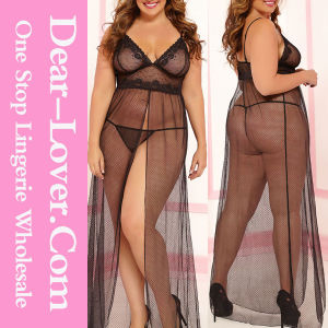 New Fashion Sexy Nightgown Plus Size Lingerie pictures & photos