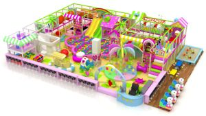 Beautiful Pink Paradise Indoor Playground for Kids pictures & photos