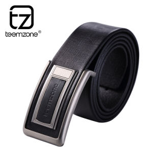 High Quality Leather Belt with Alloy Buckle