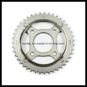Front and Rear Motorcycle Chain Sprocket Kit pictures & photos