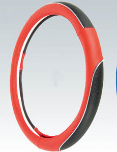 PVC with PU Steering Wheel Cover (BT7331) pictures & photos