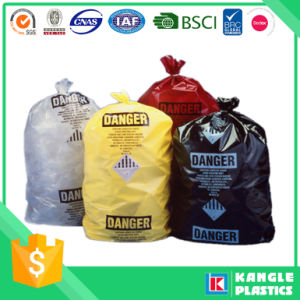 Plastic Biohazard Bag for Hospital Medical Waste pictures & photos