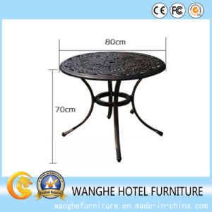 Customized Metal Garden Furniture Coffee Tea Table pictures & photos