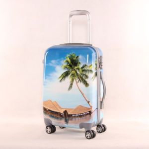 Hard Shell Colorful Printed PC Luggage pictures & photos