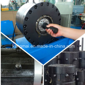 2inch Hose Crimping Machine Km-91h for Chile Clients pictures & photos
