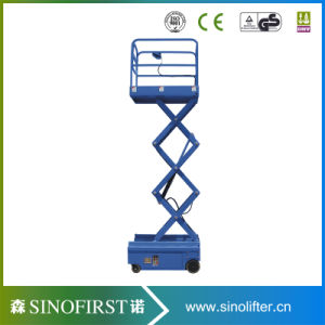 3m 4m Electric Self Propelled Scissor Platform Lift pictures & photos