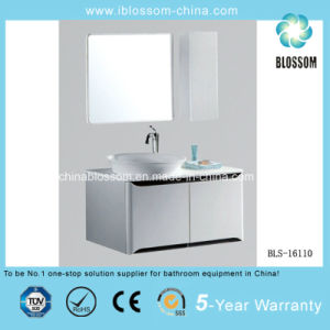 High Quality Wall Mounted PVC Board Bathroom Cabinet, Vanity (BLS-16110) pictures & photos