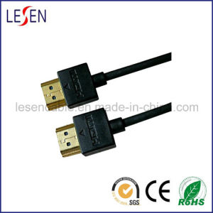 Ultra-Slim HDMI Cable with Ethernet, Am to Am Plugnew pictures & photos