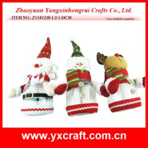 Christmas Decoration (ZY14Y238-1-2-3) Christmas Decorated Bottle Candy Bottle pictures & photos