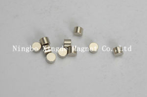 N50 Cylindrical Magnet Small Size and Nickel Coating