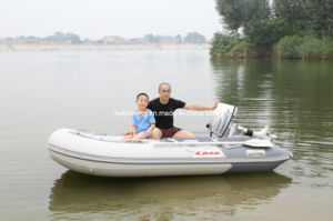 Sail Inflatable Boat 3m with Outboards 4-Stroke 5HP pictures & photos