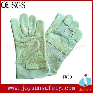 Furniture Leather Work Glove Industrial Safety Rigger Gloves (FWL3)