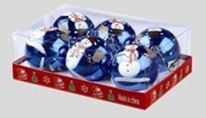 Christmas Decoration Customized Christmas Balls (TV582) pictures & photos