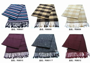 New Design Men′s Fasion Viscose Scarf (Wsv-23) pictures & photos