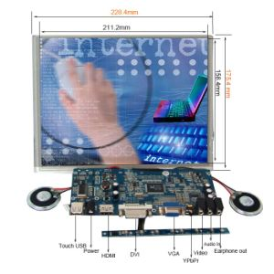 "Industrial 10.4. "" TFT LCD Module with Touch Panel pictures & photos"