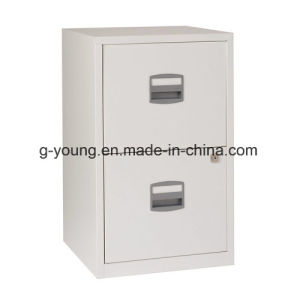 2 Drawers Vertical Metal Office Filing Cabinet pictures & photos