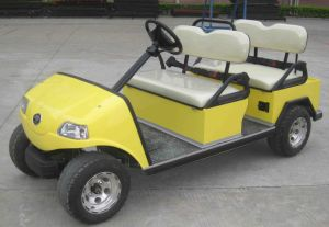 4 Seater Indoor Shuttle Golf Car with No Roof pictures & photos