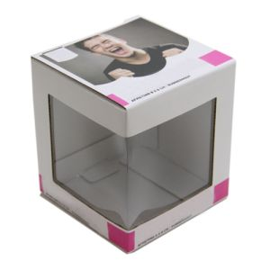 Corrugated Box with Clear PVC Window pictures & photos