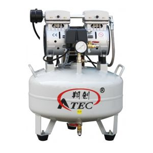 Mini Oilless & Noiseless Dental Air Compressor (AT60/25) pictures & photos