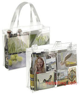 Transparent PVC Beach Bag (HBPV-43) pictures & photos